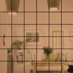 Зеркальная мозайка БРОНЗА с чипом 50*50 мм