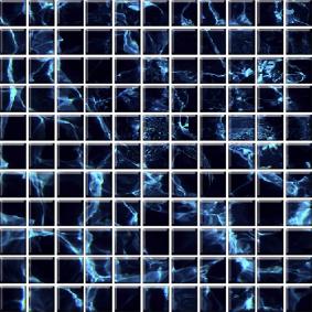 Мозайка стеклянная «ЭКО» с чипом 25*25мм МСЭ--004 300*300 мм